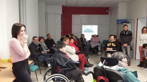 convivialité association des paralysés de france de la Mayenne