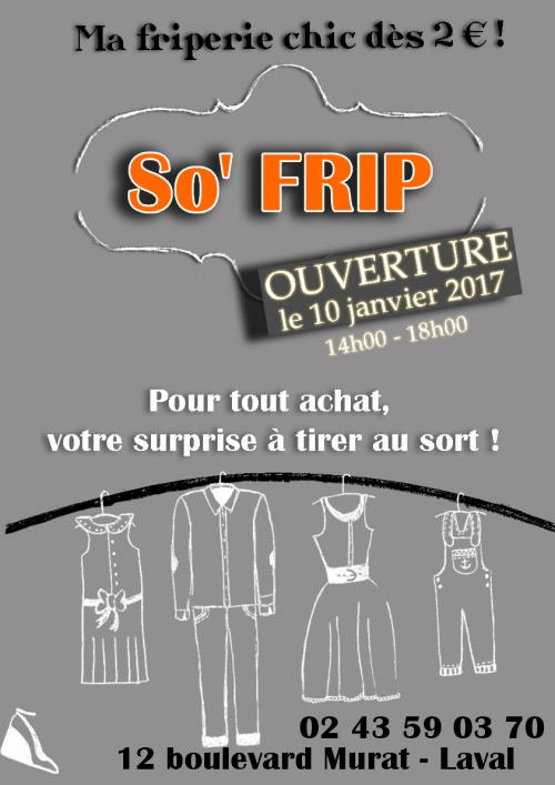 friperie So' Frip Laval, friperie solidaire laval, friperie laval, friperie So' Frip, friperie pas cher laval, vêtements seconde main laval