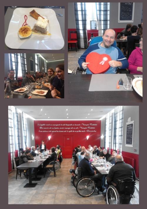 repas de Noël APF, repas de noel solidarité, repas de Noël Laval apf, repas de Noël apf mayenne