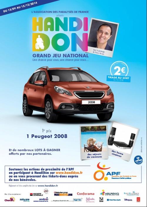 loterie handidon, handidon 2014, handidon apf, action handicap mayenne