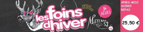Foins d'Hiver 2013, Foins d'Hiver 2013 avec l'APF