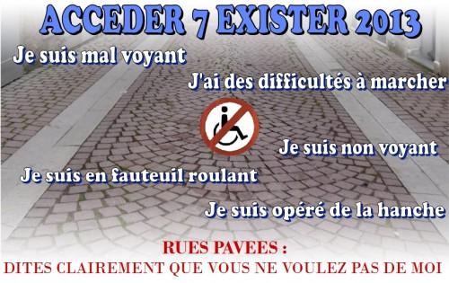 Accéder7exister APF53, Accéder7Exister 2013, accéder7exister mayenne, accéder7exister laval, accéder7exister pays de la loire
